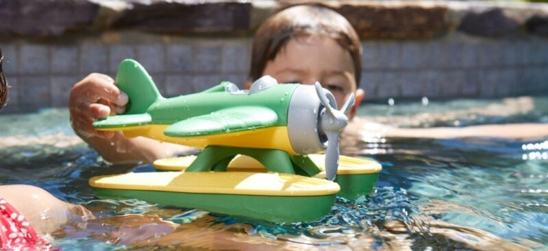 green-toy-seaplane