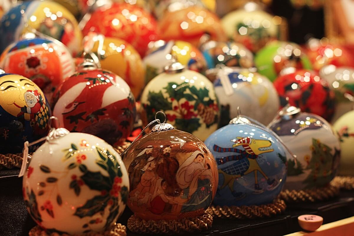 beautiful Blown glass ornaments