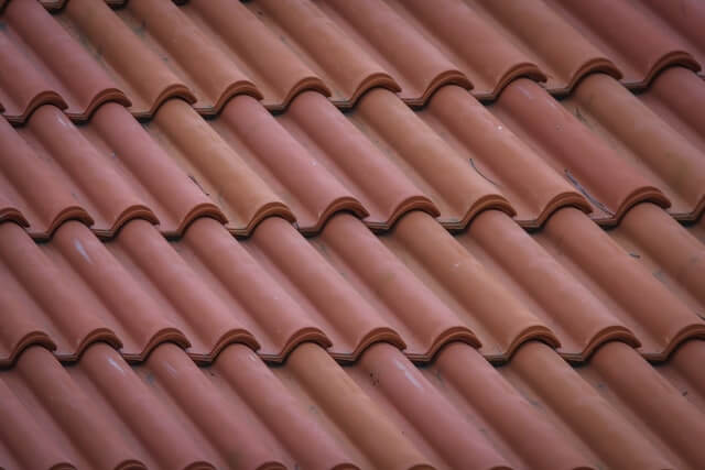 Red Roofing Shingles